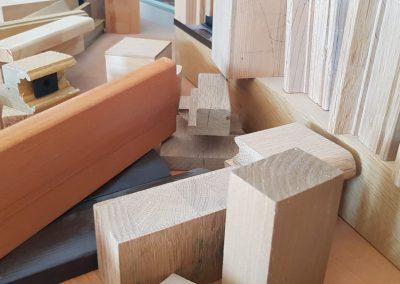 Profile din lemn stratificat - sectiuni