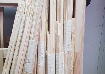 Baghete din lemn pentru tamplarie ferestre